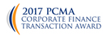 2017 PCMA Corporate Finance Transaction Award